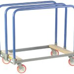 Little-Giant-PT-2436-5PY-Steel-Panel-Truck-with-Swivel-Casters-and-Wood-End-1000-lbs-Load-Capacity-24-Width-x-36-Length-0