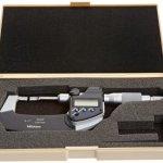 Mitutoyo-LCD-Blade-Micrometer-Ratchet-Stop-InchMetric-0-0