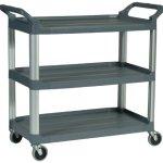 Rubbermaid-HDPE-Service-Cart-300-lbs-Load-Capacity-0-0