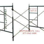2-Sets-of-Scaffold-masonry-frame-5-x-5-x-7-Scaffolding-with-Cross-Brace-and-Coupling-Pins-CBM1290-0-0