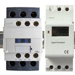 24-Hour-7-day-Pool-Pump-Timer-Contactor-30A-3-Pole-Rated-120-208-240-460-V-for-Operation-120VAC-0