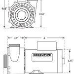 4-HP-230V-2-Speed-Waterway-Spa-Pump-Side-Discharge-2-12×2-Executive-56-PF-40-2N22C-3721621-13-0-0