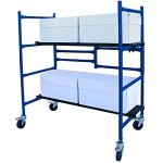 4-ft-Mini-Foldable-Scaffold-Mobile-Workbench-Storage-Cart-0