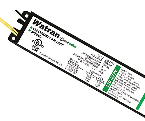 (5) Electronic Fluorescent Ballasts T8 Instant Start High