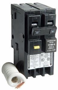 50 amp hom250gfic two pole gfci circuit breaker for square. Black Bedroom Furniture Sets. Home Design Ideas
