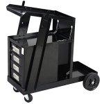 Goplus-Welding-Welder-Cart-MIG-TIG-ARC-Plasma-Cutter-Tank-Storage-w-4-Drawer-Cabinet-0