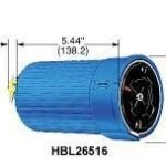 Hubbell-HBL26516-Hubbelllock-Connector-4-Pole-5-Wire-60-amp-600V-0