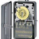 INTERMATIC-T1471BR-4PST-125V-ELECTROMECHANICAL-TIMER-SWITCH-in-NEMA-3R-STEEL-CASE-ENCLOSURE-0