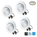 Light-Blue-4-PACK-10-Watt-75W-LED-Gimbal-Directional-Downlight-Retrofit-4-Inch-Soft-White-3000K-LED-Eyeball-Retrofit-Recessed-Lighting-Fixture-750-Lumens-Dimmable-UL-Listed-0