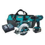 Makita-XT250-LXT-18V-Cordless-Lithium-Ion-12-in-Hammer-Driver-Drill-and-Circular-Saw-Kit-with-Two-30Ah-Batteries-0