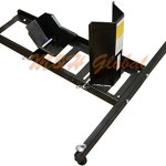 Motorcycle-Wheel-Chock-Stand-Mount-Truck-Trailer-Floor-Lift-Stand-1800-lb-Cap-0