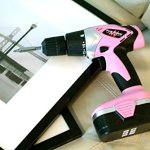 Pink-Power-PP182-18V-Cordless-Drill-Kit-for-Women-with-2-Batteries-Case-Charger-Bit-Set-0-0