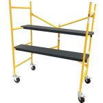 Pro-Advantage-Equipment-Portable-Mini-Scaffold-Step-Ladder-500-lb-Capacity-0