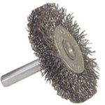 Radnor-3-X-14-Carbon-Steel-Coarse-Crimped-Wire-Mounted-Wheel-Brush-For-Use-On-Die-Grinders-And-Drills-12EA-0