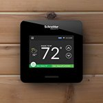 Schneider-Electric-WISERAIR10BLKUS-Wiser-Air-Wi-Fi-Programmable-Smart-Thermostat-with-Comfort-Boost-and-Touch-Screen-Display-0-1