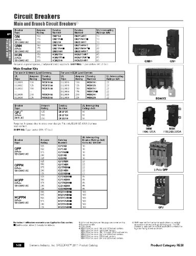 Siemens MBK200 200-Amp Main Circuit Breaker for Use in EQ