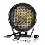 Turbo-Pair-9-Inch-96w-Driving-Lamps-Cree-Round-Black-Headlight-8500-Lumen-Spot-Led-Work-Light-Mounting-Bracket-Ip68-0-0