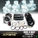 Xprite-160W-8-x-20W-Hideaway-Strobe-Lights-Kit-Complete-Set-0
