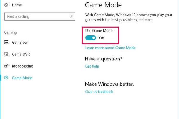 How To Optimize Windows 10 For Games