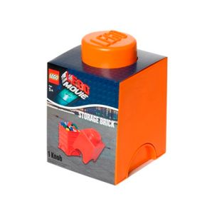 Lego Movie Small Orange Brick Comaco Toys