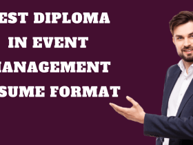 Diploma in Event Management Resume