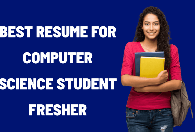 Resume For Computer Science Student Fresher