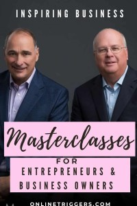 The best business Masterclasses for entrepreneurs & business owners