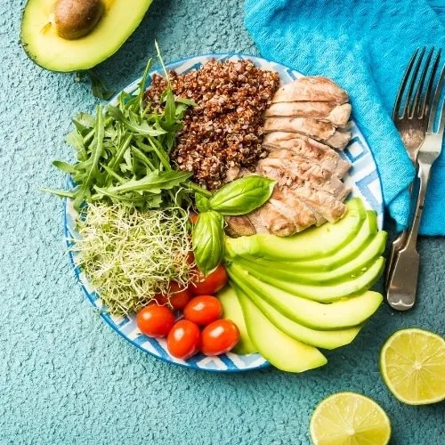 Healthy food recipes, meal prepping, meal planning