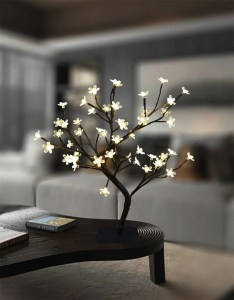 Cherry Blossom Bonsai Tree - modern office decor ideas