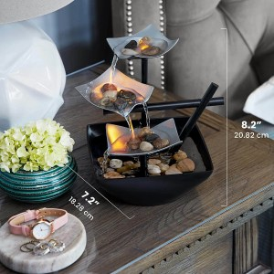 Homedics Relaxation Indoor Tabletop Fountain - best office decor ideas for him