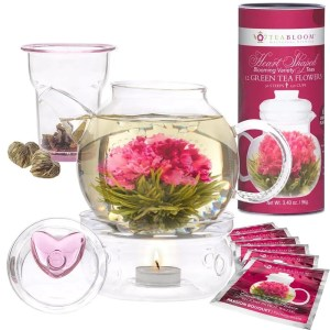 Teabloom Heart Shaped Flowering Tea - thoughtful business gift ideas