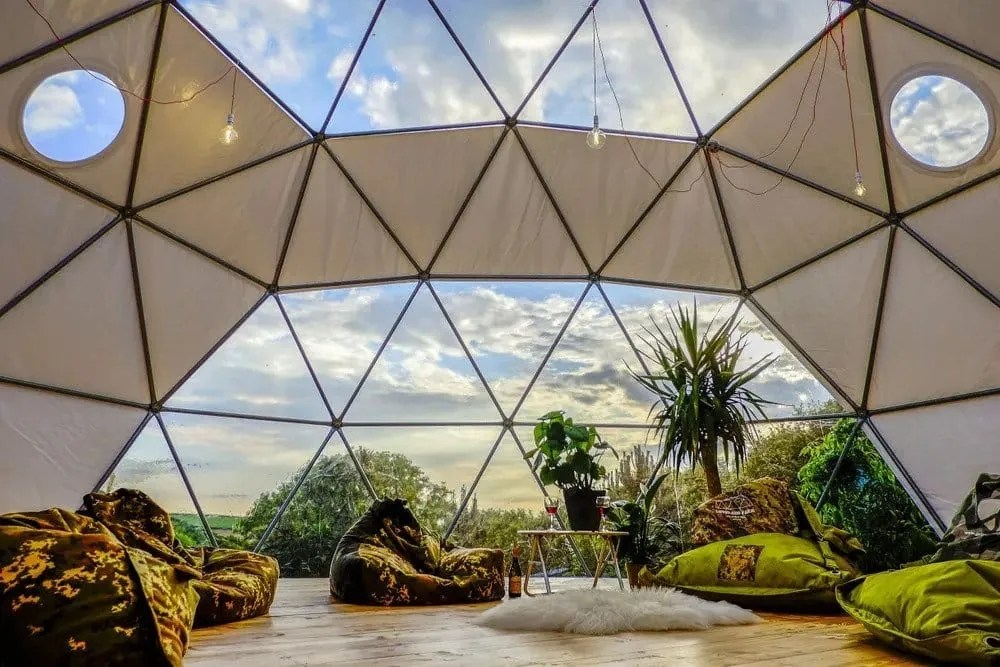 3 Day Luxurious Glamping and Yoga Retreat in North Devon, UK