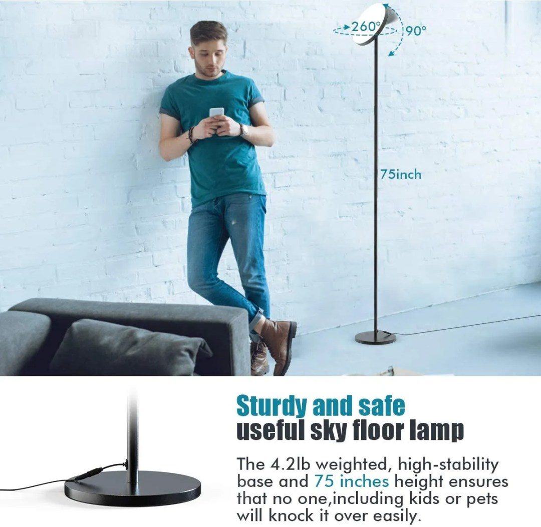 Floor Lamp for small home office