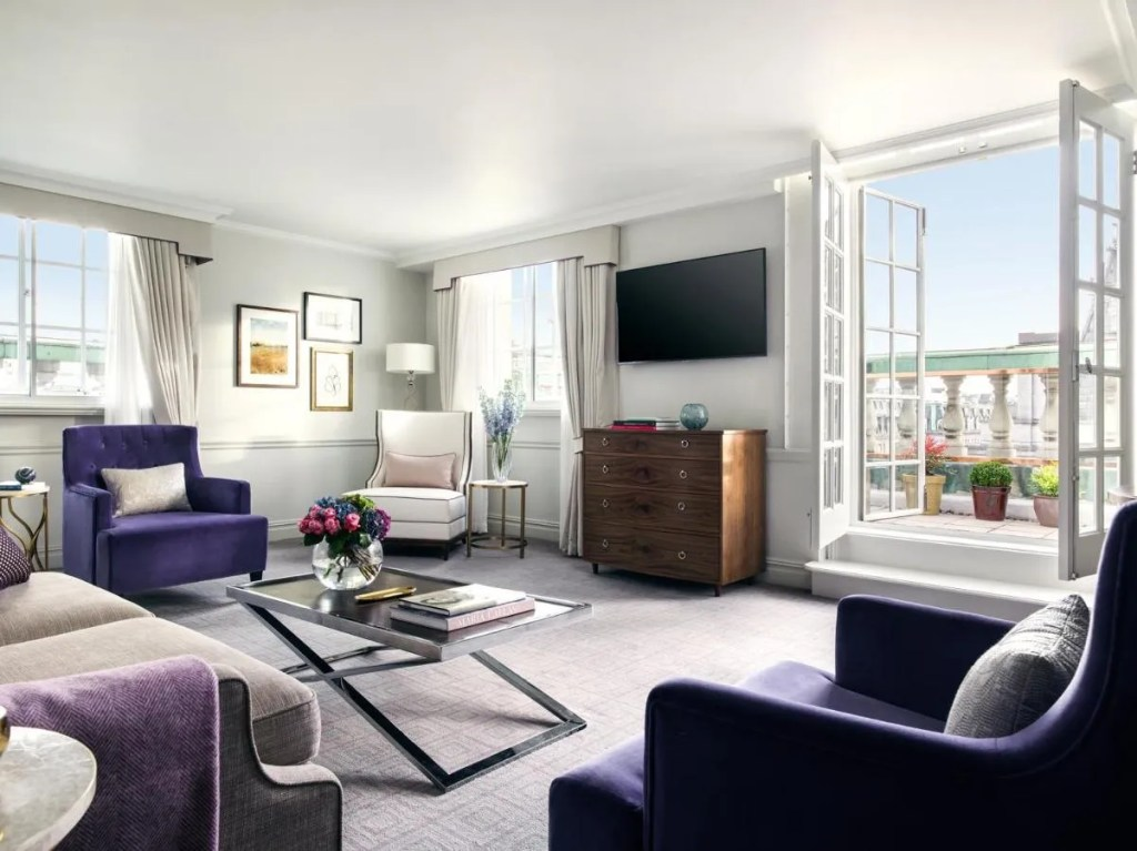 The Langham London - 5-star Luxury hotel near Oxford Circus, central London hotel with balcony