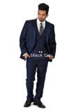 Ike Behar Navy Sebastian Tuxedo Rental