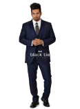 Navy Online Tuxedo Rental - Ike Behar Sebastian