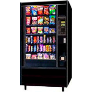AP 113 Snackshop Glass Front Automatic Products Snack Merchandiser
