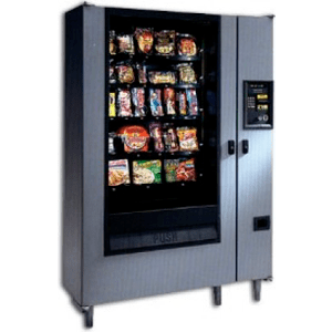 AP 320 A La Carte Glass Front Frozen Vending Machine Merchandiser