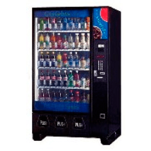 Dixie Narco 5592 BevMax Beverage Vending Machine Merchandiser