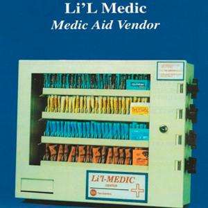 Li'L Medic 4 Column Lil Medic Aid-Condom- Medical Vending Machine