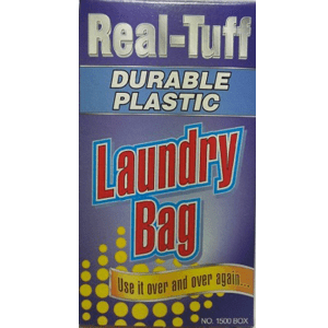 """Real-Tuff"" JUMBO Reusable Large Plastic Laundry Bag"