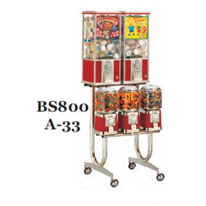 A-33 Rack For Beaver Bulk Vending Machines