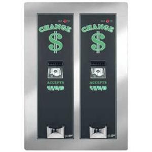 AC2221 Rear Load Dual Dollar Bill Changer