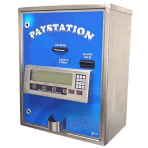AC8000 Automatic Carwash Paystation - High Security Stainless Steel