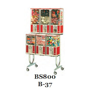 BS 800 / B-37 Rack For Beaver Bulk Vending Machines