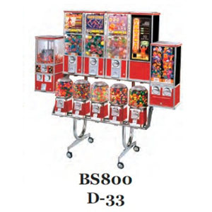 BS 800 D-33 Rack For Beaver Bulk Vending Machines