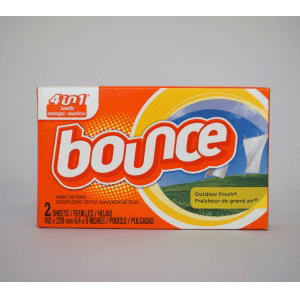 Bounce-Fabric Softener Sheets-156/Case-Coin Vending
