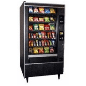Crane 167 GF Snack Center Crane National Vendors Vending Machine