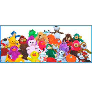 Small Generic Plush 180 Pieces Per Case-Non-Licensed