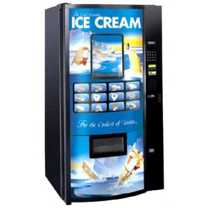 Fastcorp 820 Vacuum Ice Cream Vending Machine Online Vending